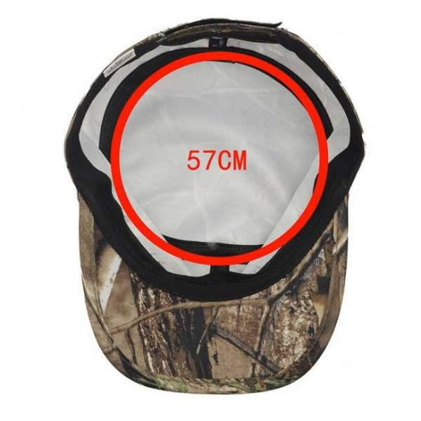Outdoor camouflage cap adjustable waterproof quick dry hat hunting hiking mens