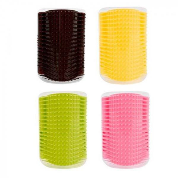 Cat Toys Pet Products For Cats Brush Corner Cat Massage Self Groomer Comb Brush Cat Rubs the Face with a Tickling Comb Cat Product Brush