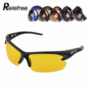 2019 model sunglasses night vision uv protective for outdoor sports running driving hiking cycling