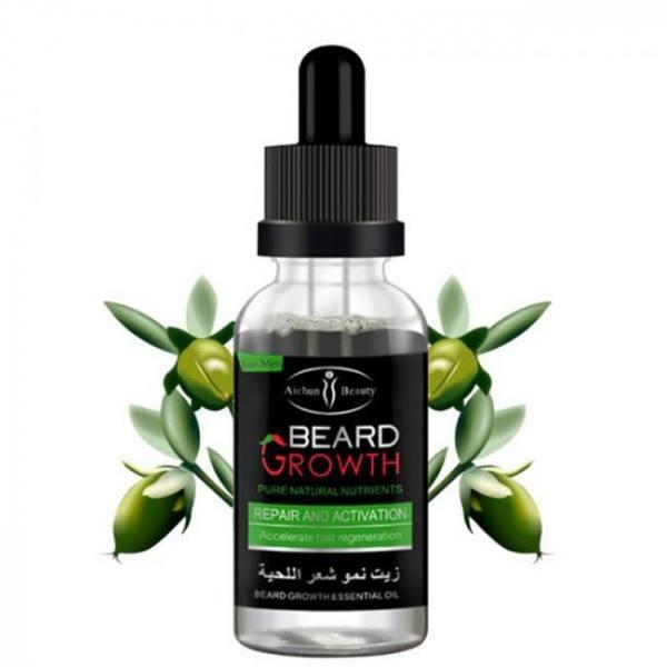 FREE SHIPPING 100% Natural Organic Men Beard Growth Oil 100