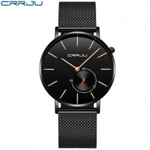 Crrju casual quartz wristwatch watch