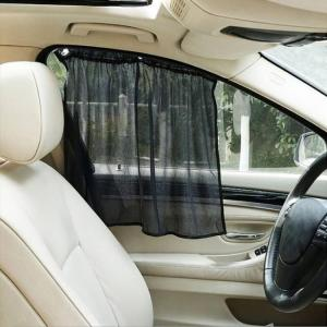 Accessories Foldable Side Window Car Sun Shade Mesh Curtain (2 pcs) Blind