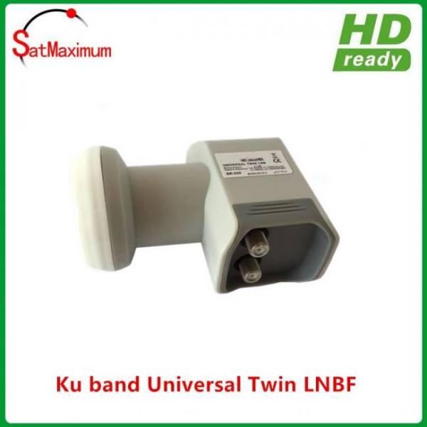 FREE SHIPPING SatHawk Ku Band LNB Twin Universal Linear FTA LNBF PLL 10600