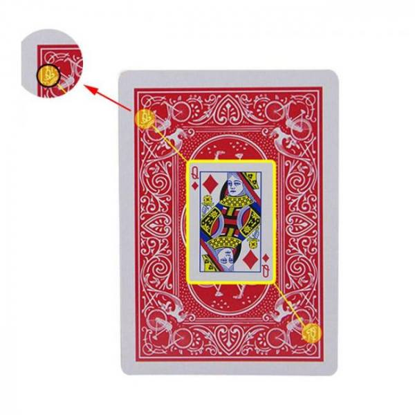 Secret marked cheating poker playing cards