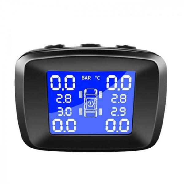 Accessories FlyHawk Car Wireless TPMS 12V Tire Pressure Alarm Monitor System 12V