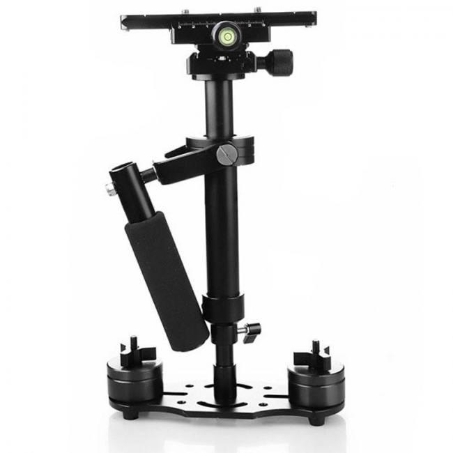 S40 Mini Handheld DSLR Camera Stabilizer Video Steadicam Steadycam For  Nikon Canon Sony - Sadoun Sales International