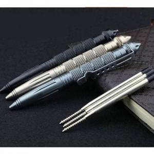 Camp & Survive EDC Aluminum Glass Breaker Self Defense Tactical Survival Pen Aluminum