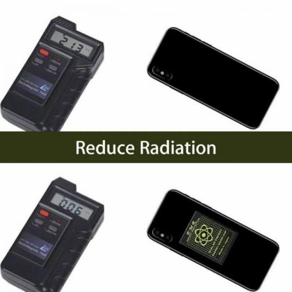 10pcs/lot emr scalar energy phone sticker anti radiation keep health anti emp emf free shipping protection for pregnant woman