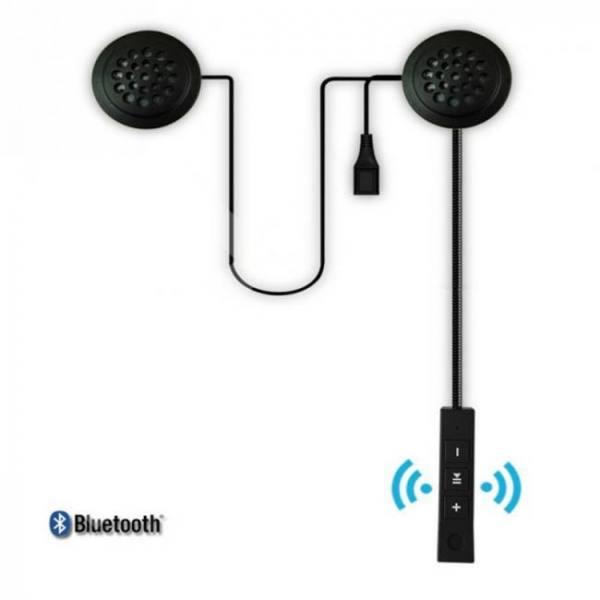 Bluetooth motorcycle helmet riding hands free headphone