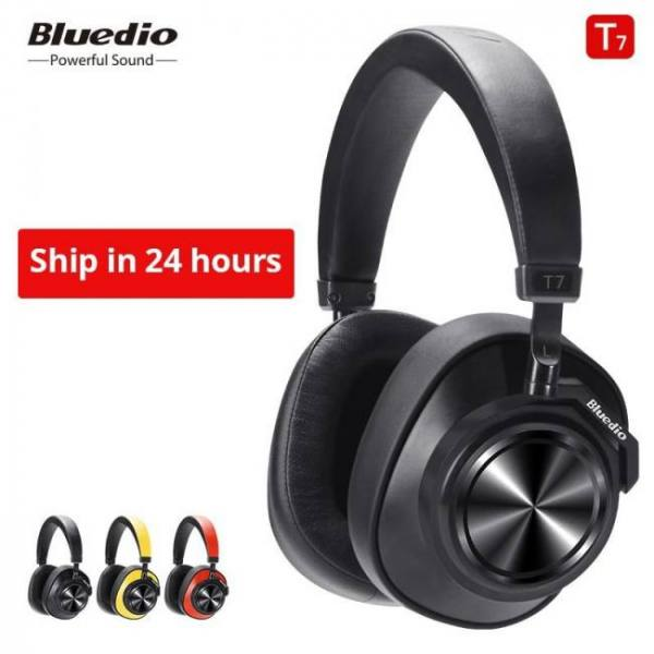 Bluedio t7 bluetooth active noise cancelling wireless headphones headset