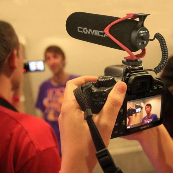 V30 lite video recording condenser camera microphone