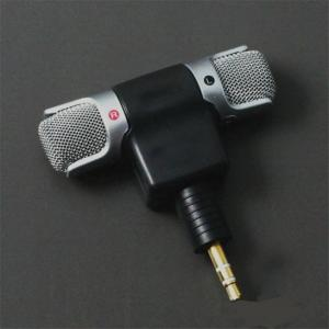 Mini 3.5mm jack stereo smartphone microphone mic