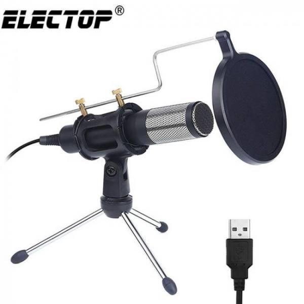 Professional condenser usb computer microphone