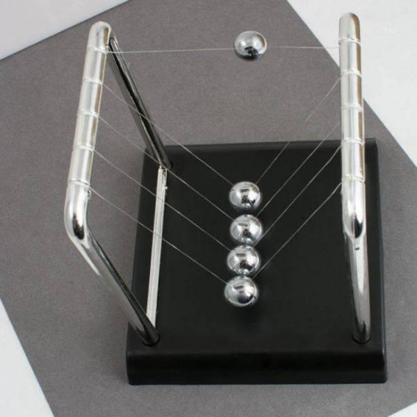 Square newton pendulum home decoration