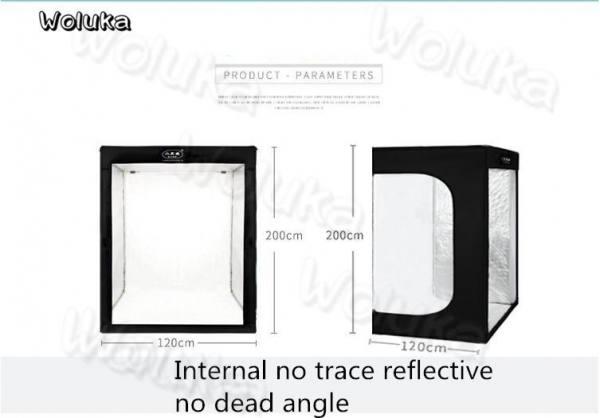 200cm 6.5 ft full model body portrait photo shooting studio softbox with 10x led strips