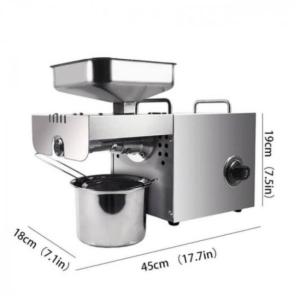 Automatic peanut coconut olive walnut cold oil press extractor machine with temperature control