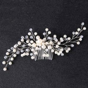 Bridal women girl hair ornaments wedding accessories comb headpiece fashion decoration pin