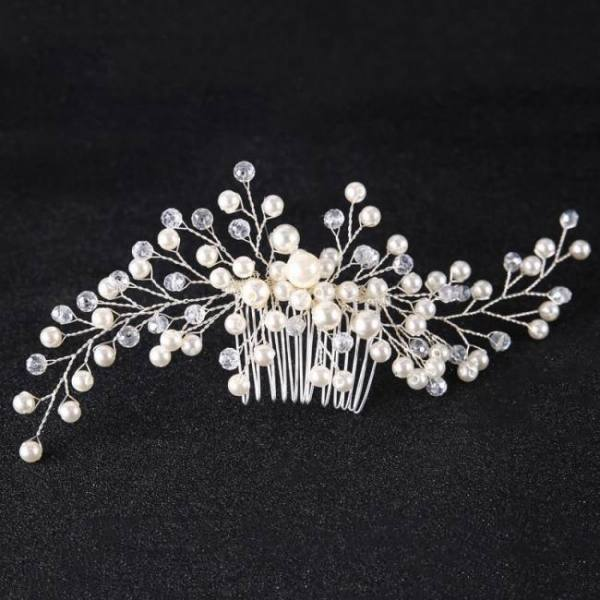 Bridal women girl hair ornaments wedding accessories comb headpiece fashion decoration pin