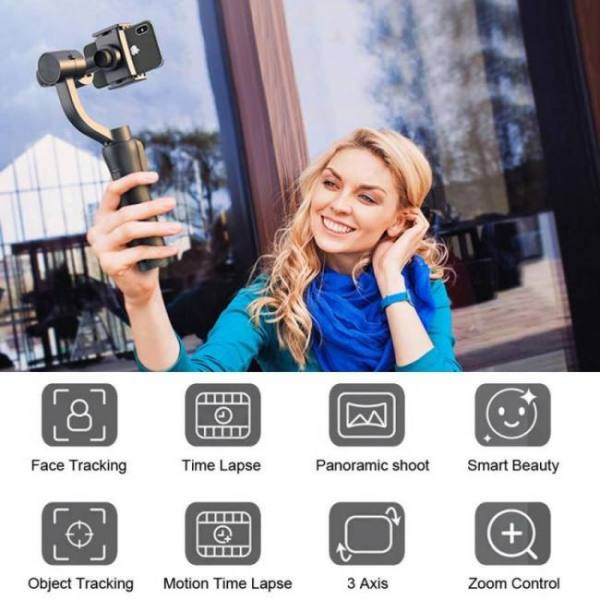 3-axis handheld gimbal pro stabilizer for mobile smartphones