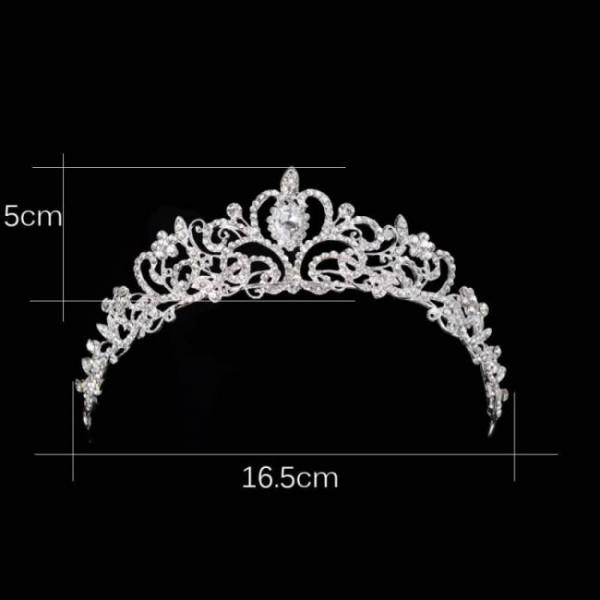 Luxury wedding bridal austria crystal tiara crowns princess queen party prom rhinestone tiara headband hair jewelry accessories