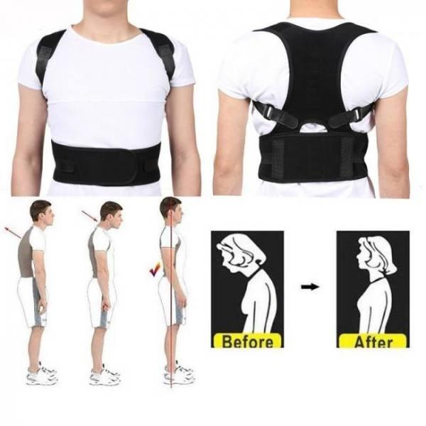 Posture corrector corset back brace belt lumbar support