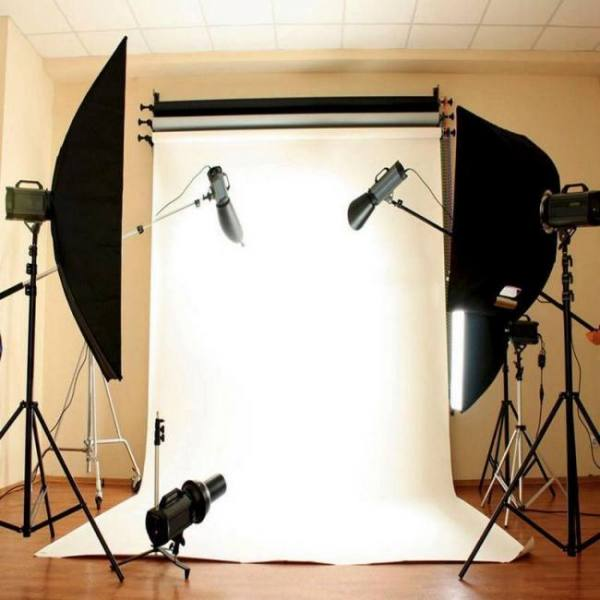Pure white wall photography studio photocall backdrop cloth  90 x 150cm ( 3x 5ft)
