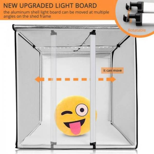 Travor 80*80cm 31.5 inch dimmable photo studio softbox light tent