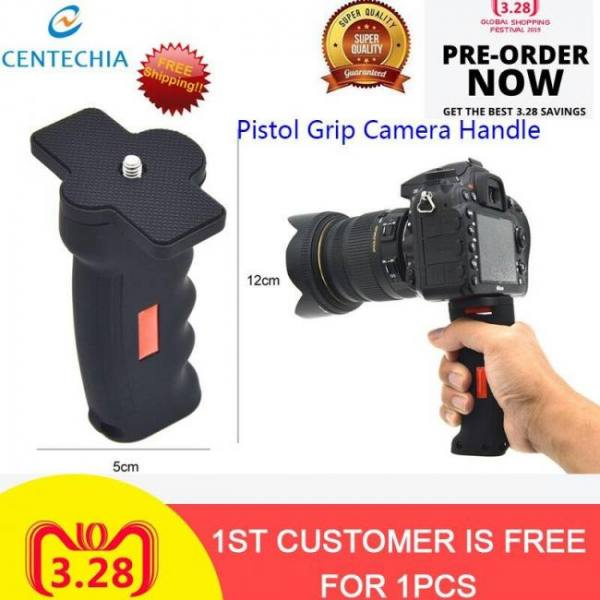 Portable mini handheld camera stabilizer grip handle