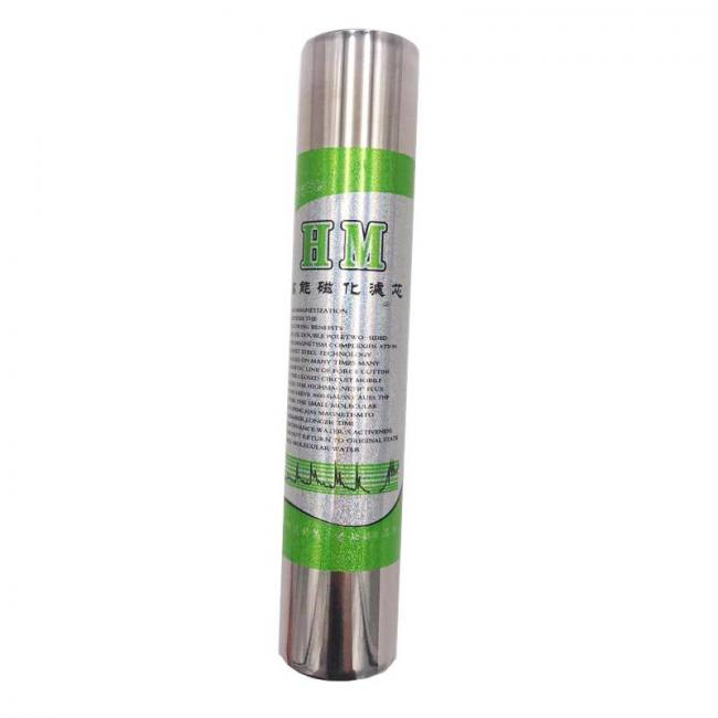 Household dynamic magnetized 5000gs gauss energy water purifier filter