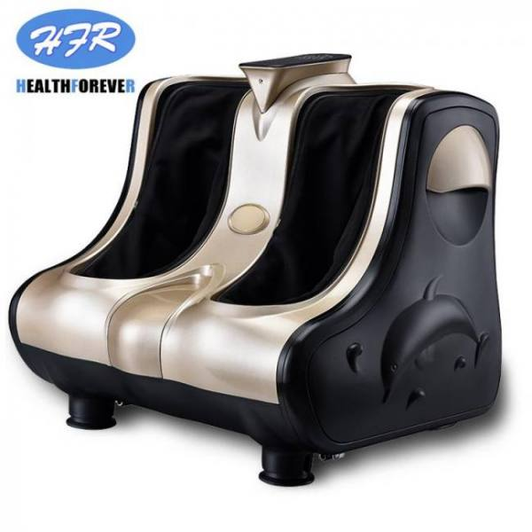 Feet shiatsu air compression acupressure slimming led leg pedicure massager