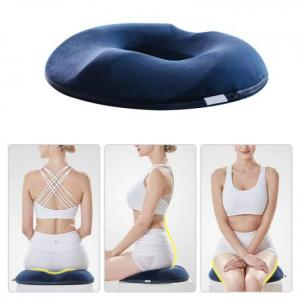 Anti hemorrhoid massage chair seat cushion comfortable foam tailbone pillow hip push up yoga orthopedic car office seat cushion