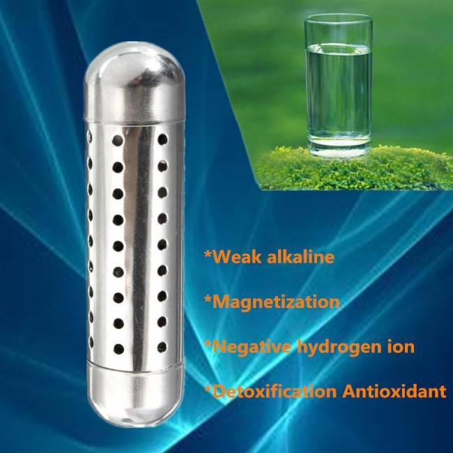 Water purifier ionizer stick raise ph neg charged structured alkaline stick