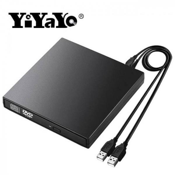 Usb 2.0 external dvd cd rom cd-rw burner writer reader recorder optical player drive