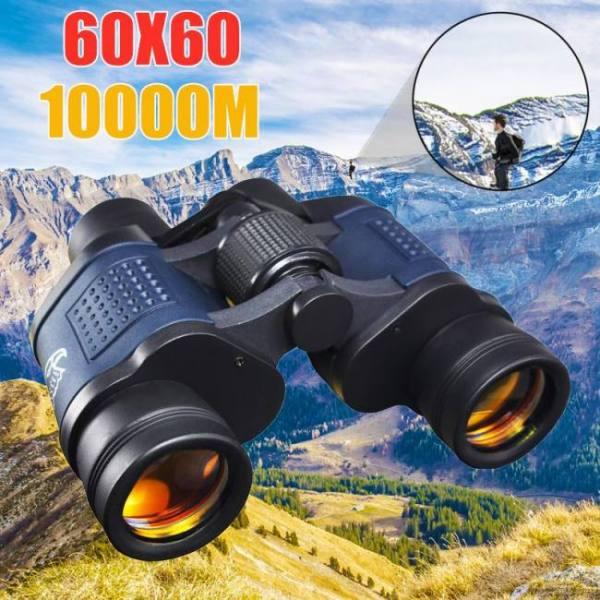 High clarity powerful 60x60  outdoor hunting night vision binoculars hd 10000m