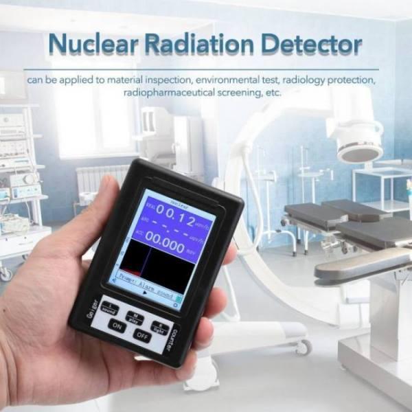 Electromagnetic radiation detector upgrade geiger counter nuclear radiation dosimeter detector radiation dosimeter marble tester