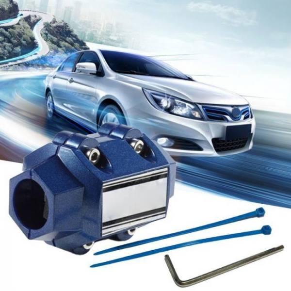 D1 magnetizer car fuel saver universal fuel saver powerful white magnetic purifier magnetizing apparatus