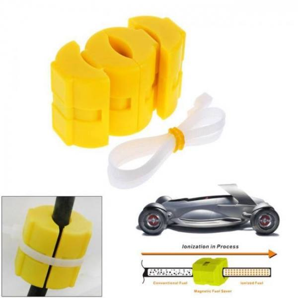 Universal magnetic gas fuel power saver for car vehicle reduce emission car magnet energy fuel saver gasoline assisting tools