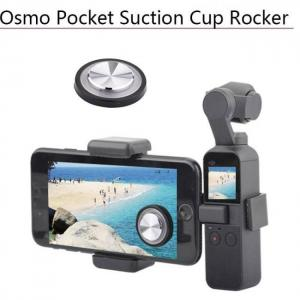 Stable joystick firm phone suction cup rocker protector for dji osmo pocket remote button thumb stick handheld gimbal accessory
