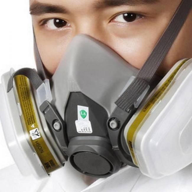 gas mask full face virus