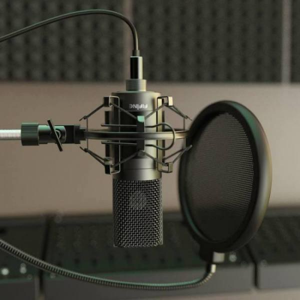 Usb condenser recording microphone for laptop mac or windows studio recording vocals voice over youtube