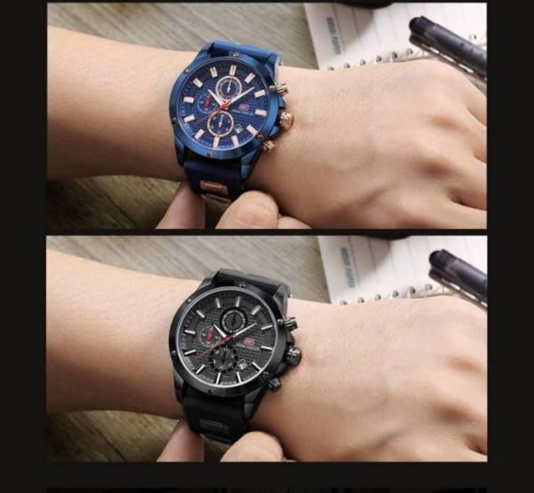 Minifocus military men casual quartz wrist watch waterproof