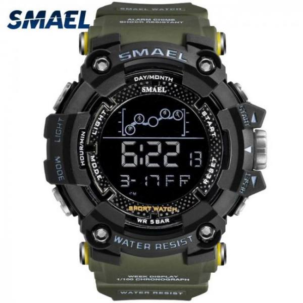 Smael men military army water resistant sport wrist watch