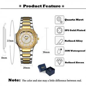 Beautiful women trending fashion quartz wrist watch
