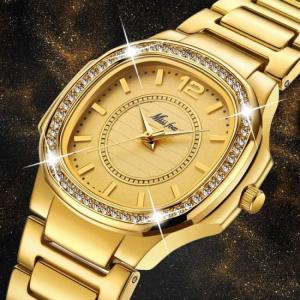 Beautiful women trending fashion quartz wrist watch