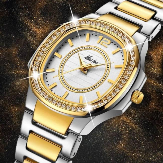 Women Fashion Geneva Designer Ladies Quartz Wrist Watch Sadoun Sales International