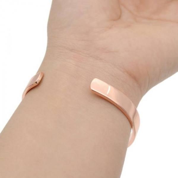 Magnetic copper bangle bracelet cuff bangle bio therapy arthritis pain relief for women men