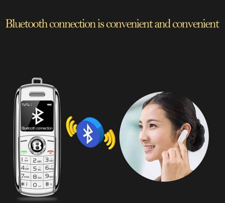 Mini telephone bluetooth gsm pocket phone