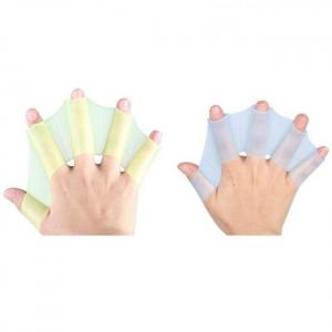 Swimming hand finger fin learning web flippers