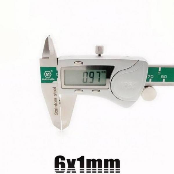 20/50/100/200/500pcs 6mmx1mm strong cylinder rare earth magnet 6x1 neodymium bulk sheet n35 mini small round magnets disc 6*1mm