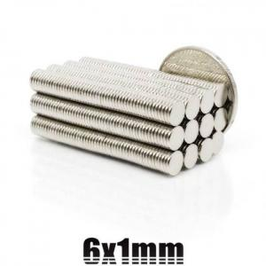 20/50/100/200/500pcs 6mmx1mm strong cylinder rare earth magnet 6x1 neodymium bulk sheet n35 mini small round magnets disc 6*1mm